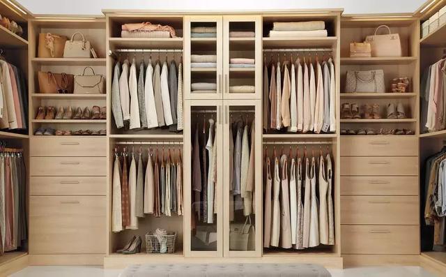 卧室衣柜设计,衣柜黄金分区和尺寸!