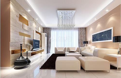 时尚客厅装修效果图 15平米客厅掀起时尚潮流