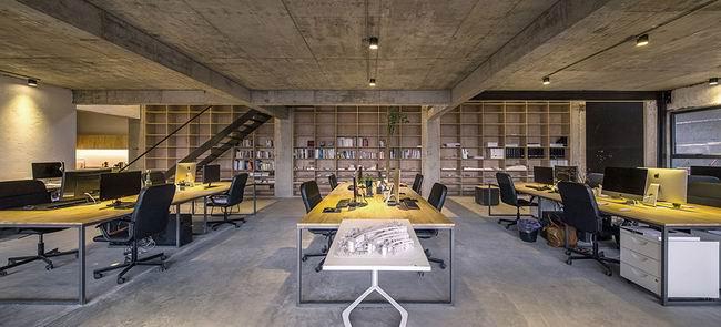 洪山办公室装修,工业风办公室设计效果图