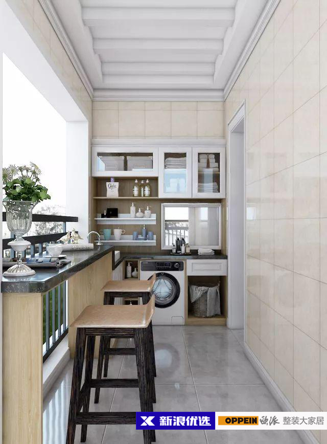 新浪优选2㎡阳台柜高颜值集锦,设计感与实用感满满!图片