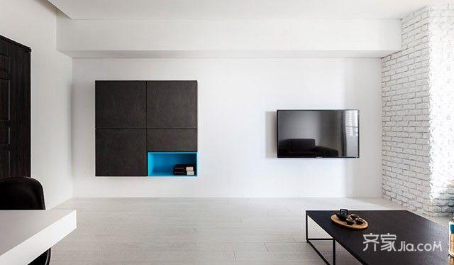 現代簡約一居室 (10)