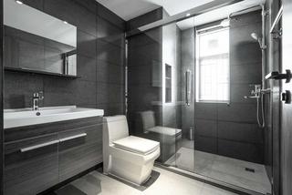 155㎡现代风格卫生间装修效果图