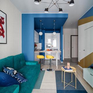 40平小户型公寓装修效果图