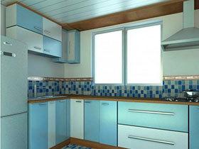 20款地中海风情厨房 感受瓷砖铺就的蓝色海洋