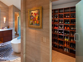 实木鞋柜如何搭配 14图为您呈现