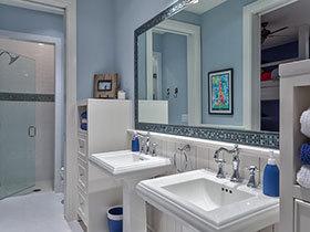 18款特色洗手台 时尚大气的卫生间装扮