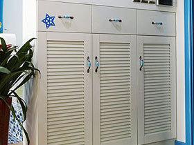 鞋柜也要小清新 17个地中海鞋柜