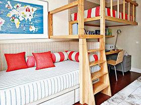 15图双层儿童床欣赏 多个孩子的选择