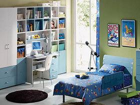 18种简约风格儿童房 简洁不失童趣