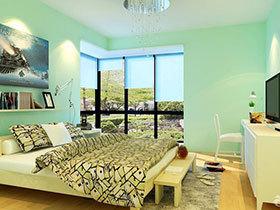 16款彩色卧室床 清新可爱