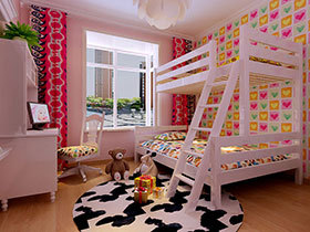 16种欧式儿童床设计效果图 时尚可爱