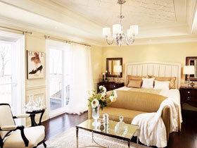 16款白色窗帘图片 装点最纯净空间