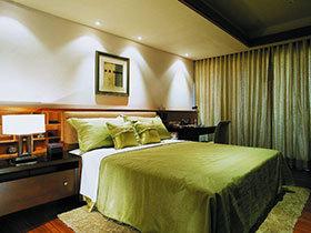 大气中式床 打造的15张简约卧室图片