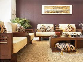 中式客厅沙发效果图欣赏 装扮最大气客厅