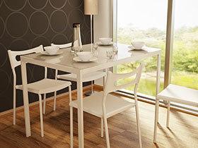 16张白色餐桌设计效果图 干净素雅