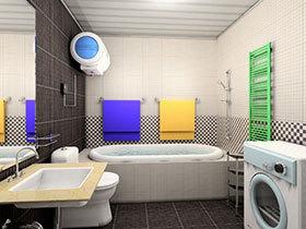 不一样的卫生间标配 26张简约洗手台图片