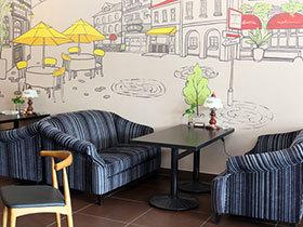 13款卡通沙发背景墙设计图 尽显可爱范儿