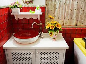 15张圆形洗手台设计图 安全又实用