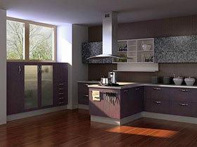 简洁橱柜设计 18款欧式厨房效果图