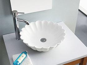 15款独立式台盆图片 让洗漱更方便