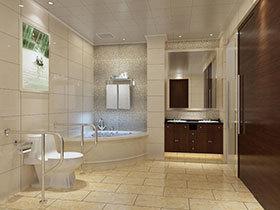 嵌入式洗手台图片 18款地中海式卫生间