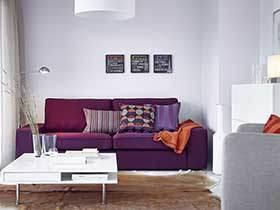 时尚大气范儿 18张宜家沙发背景墙图片