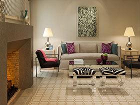 16张客厅沙发背景墙图片 感受个性简约风