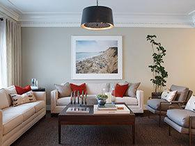 18張現代簡約沙發背景墻圖片 簡潔大方