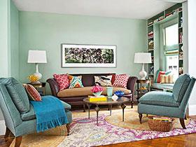 21张特色沙发背景墙图片 唯美艺术范儿