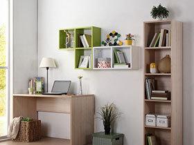 自然原木风 16张木质书桌设计图