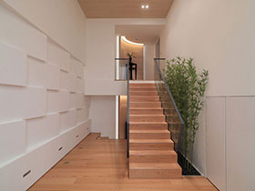 楼梯过道效果图 16款简约过道点亮家居