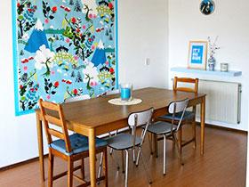 19张餐厅背景墙设计图 感受壁纸带来的震撼