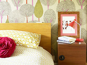 18款卧室壁纸图片 造个性卧室空间