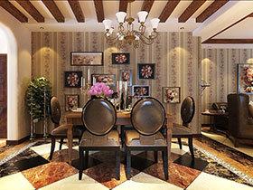 记忆中的照片墙 16张餐厅背景墙效果图