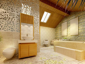 清新原木风 13张黄色浴室柜设计图