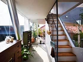 14种楼梯过道设计图 简单大气