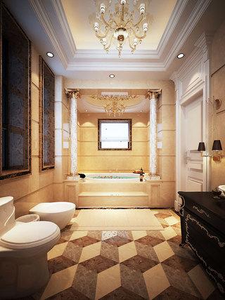 黑色浴室柜效果圖