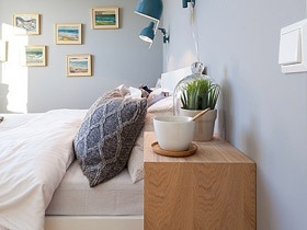 实用收纳柜 13款实木床头柜效果图