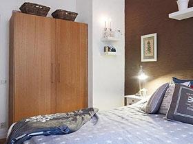 合理设计衣柜 14款双门小衣柜图片