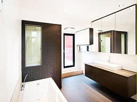 17张黑色浴室柜设计图 稳重大气