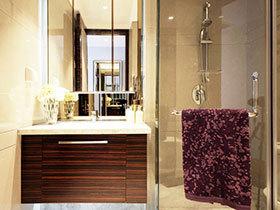 12张小型浴室柜设计图 玲珑精致