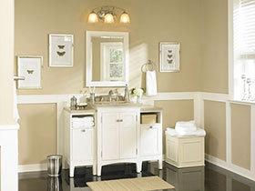 简约不简单 14张现代简约浴室柜设计图