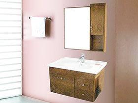 卫生间也要与众不同 14张个性浴室柜图片