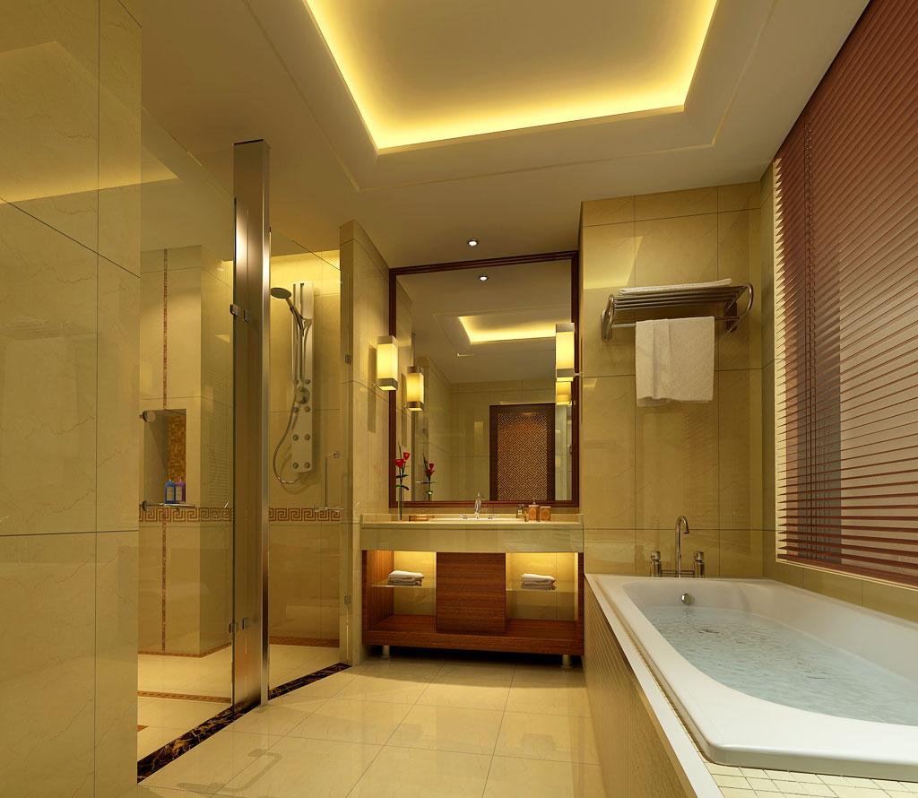 个型浴室柜设计图