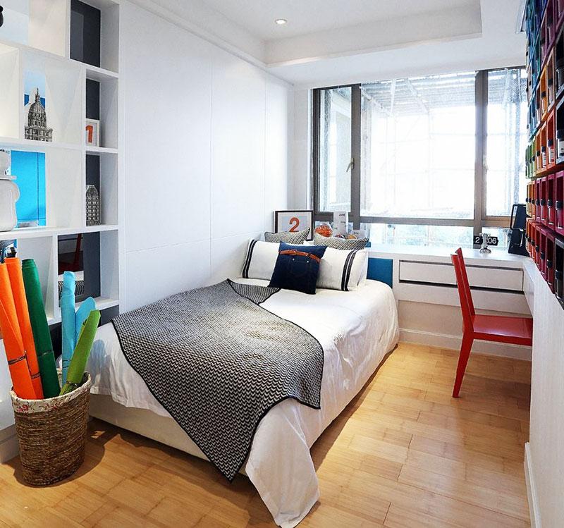 小户型实用小卧室设计图