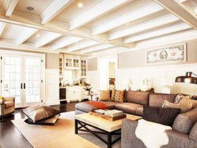 别墅客厅沙发效果图 16图创意设计