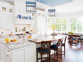 12张厨房吊顶装修效果图 实用又时尚