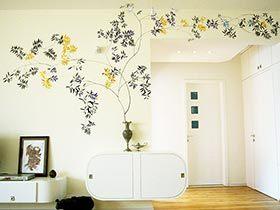 客厅手绘墙图片 12图领略客厅的美