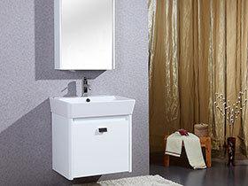 14张整体浴室柜图片 个性范儿十足