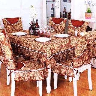 红色餐桌布设计图
